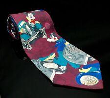 Mickey Mouse Goofy Mens Tie Necktie Multi-Color Mickey Unlimited Trip Tie