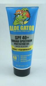 Aloe Gator 10421 SPF40 Gel Soleil Bloc Soin Écran 118ml Neuf Emballage 27427