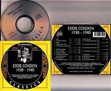 EDDIE CONDON Chronological Classics 1938-1940 CD (#759 NM) Fats Waller/Teagarden