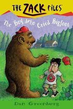 Zack Files 19: the Boy Who Cried Bigfoot (The Zack Files) by Greenburg, Dan, Da