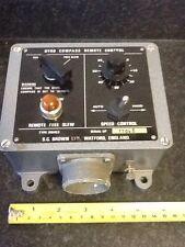 Royal Navy Gyro Compass Remote Control Box