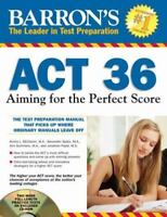 Barron's Act 36: Aiming for the Perfect Score  VeryGood