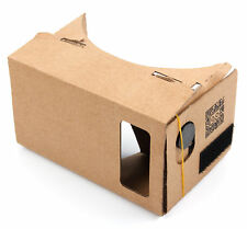 Cardboard Virtual Reality VR 3D Headset Goggles for Android & Apple Smartphones