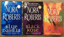 Nora Roberts ~ In The Garden Trilogy Complete 3 PB Lot ~ Free Shipping