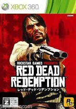 Used Xbox 360 Red Dead Redemption MICROSOFT JAPAN JP JAPANESE JAPONAIS IMPORT