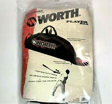 "Worth Baseball / Softball Player Equipment Bat Bag - Unisex Bag - 36"" x 6"" x 9"""
