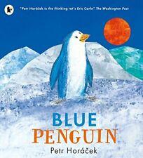 [Walker Books] BLUE PENGUIN by Petr Horacek Children Illustrated Christmas Book