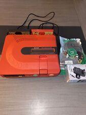 Sharp Twin Famicom Jeu Console AN-500R Rouge Disque Système Testé Travail W/Box
