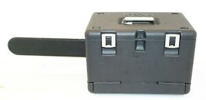 """RYOBI Chainsaw Hard CASE ONLY w/ SCABBARD for 18"""" Bar - Good Condition"""