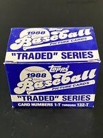 Vintage 1988 Topps Traded Set Complete ALOMAR RC HOF GRACE ABOTT RC RARE NrMt/Mt