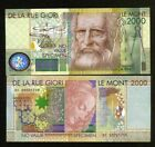 De La Rue GIORI, Test / Advertising note / Specimen, Type 2 - Leonardo da Vinci