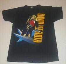 VINTAGE CONCERT TEE SHIRT DAVID LEE ROTH SKYSCRAPER WORLD TOUR 1988 LARGE