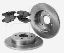2 Bremsscheiben + 4 Bremsbeläge OPEL Astra G 4-Loch für BS Bosch hinten 240 mm