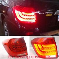 Full LED Tail Lamp Light set 1:1 Replacement For Toyota Highlander 12-2014