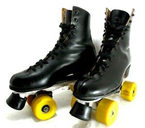 Vintage Riedell Sure Grip Jogger Roller Skates Size 7
