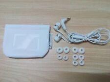 Genuine sennheiser CX400ii in-ear earphones headphones with case- White