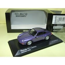 PORSCHE 911 CARRERA 993 1993 Purple MINICHAMPS 1:43