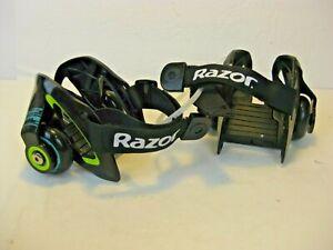 Razor Jetts Heel Wheels 25056130 Black Youth Skates Roller sneakers shoes kids