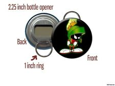 Marvin the Martian Alien with Laser Bottle Opener / Keychain