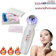 Photon Rejuvenation LED Light Therapy 3MHz Ultrasonic Face Skin Care US Stock CE