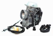 Carburetor & Throttle Cable For Honda Foreman 400 450 FourTrax 250 300 350