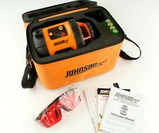 Johnson Level Amp Tool Self Leveling Rotary Laser Level Model 40 6515