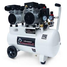 Flüster Kompressor KW2050 Luftkompressor Silent Druckluft 50L Airbrush 69dB