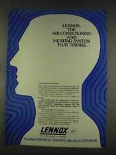 1977 Lennox Heating and Air Conditioning Ad - Thinks