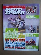 MOTOSPRINT n°5  1992     [Q21]  TEST SUZUKI DR 650 RSE GUZZI DAYTONA 1000
