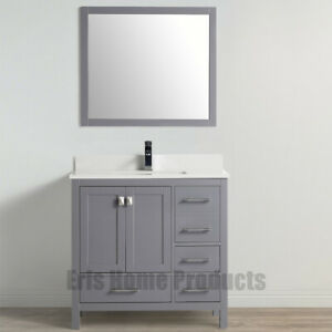 36″ Modern Bathroom Vanity Set