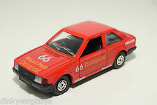 CORGI TOYS FORD ESCORT DATAPOST RALLY RED NEAR MINT CONDITION.