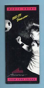 1983-84 New York Arrows MISL Media Guide
