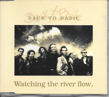 BACK TO BASIC - Watching the river flow CDM 4TR Pop Rock 1994 (RED BULLET)