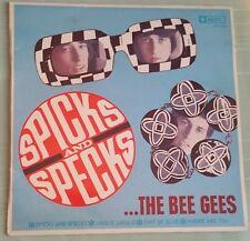 Bee Gees - Spicks and Specks EP Mono ORIGINAL Spin RARE Aussie Beat 1966