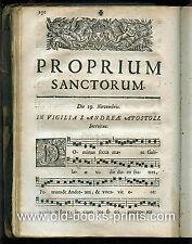 Graduale des Praemonstratenserordens von 1718 - Original!!