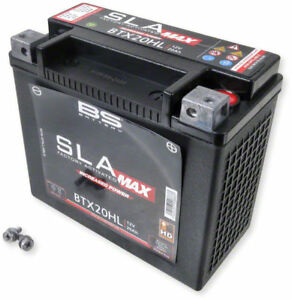 BATTERIA BS SLA MAX BTX20HL A GEL per HARLEY DAVIDSON 1584 Fat BOB 12V 20Ah