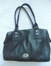 FOSSIL Maddox LUXUS Handtasche LEDER Ledertasche SHOPPER Bowling BAG gepflegt #