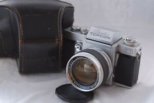 Topcon Super D Camera with Topcor 58mm f/1.4 Lens in Excellent Cond