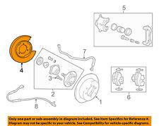 HYUNDAI OEM 99-05 Sonata Rear Brake-Backing Plate Splash Dust Shield 5825138000