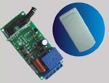 Radio ricevitore 433MHz frequenza 1 Rele 230Volt (telecomando cancelli serrande)