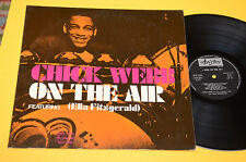 CHICK WEBB LP ON THE AIR TOP JAZZ 1°ST ORIG ITALY 1970 EX ! AUDIOFILI !!!