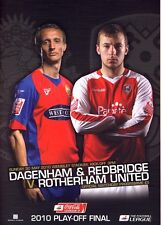 Liga dos Play Off final 2010 Dagenham V Rotherham