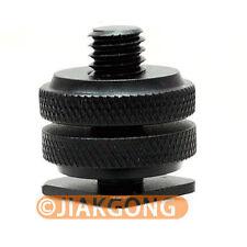 "10pcs/LOT Pro Type 1/4""-20 Tripod screw to Flash Hot Shoe Adapter"
