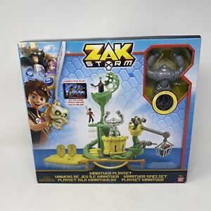 Zak Storm Marituga Playset with coin and figure new