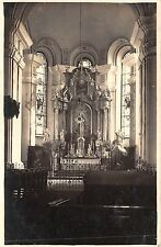 B72067 Interior Biserica jud Szatmar  satu mare real photo  romania