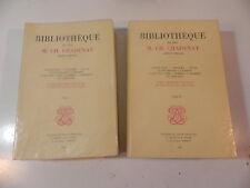 BIBLIOTHEQUE DE FEU M. CH. CHADENAT libraire voyages atlas marine bibliophilie