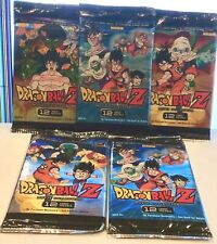 Lot of 5 Dragonball Z Movie Collection Booster Packs - NEW 12 Cards Per Pack