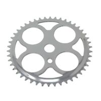 BICYCLE CHAINRING  4 ClRCLES 46t 1/2 X 3/32 Chrome CRUISER BIKE