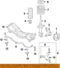SUBARU OEM 08-13 Forester Front Suspension-Coil Spring 20330SC100