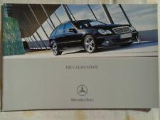 Mercedes C Class Estate brochure Mar 2004